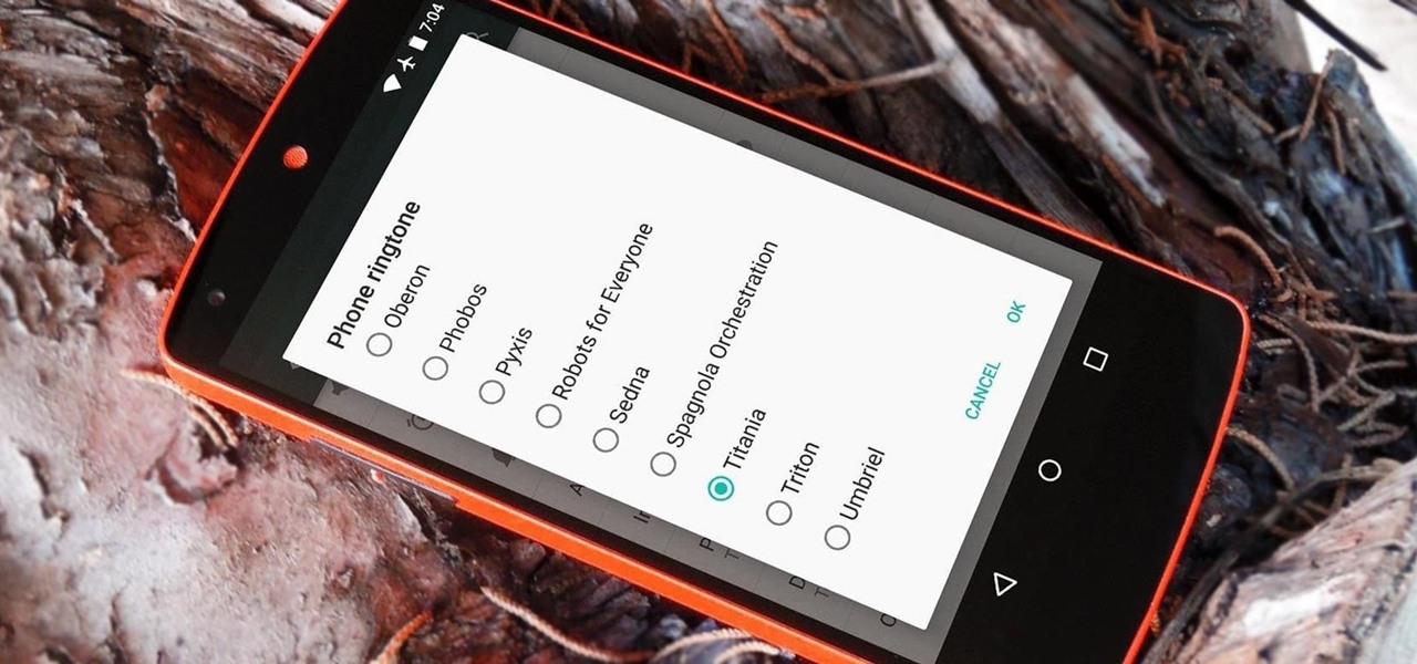 Get Nexus 6 System Sounds & Ringtones on Your Nexus 5