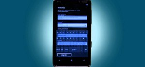 Set up a Microsoft Exchange email account on a T-Mobile HTC HD7