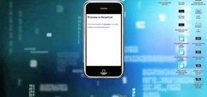 Use the ScreenSplitr and DemoGod iPhone apps