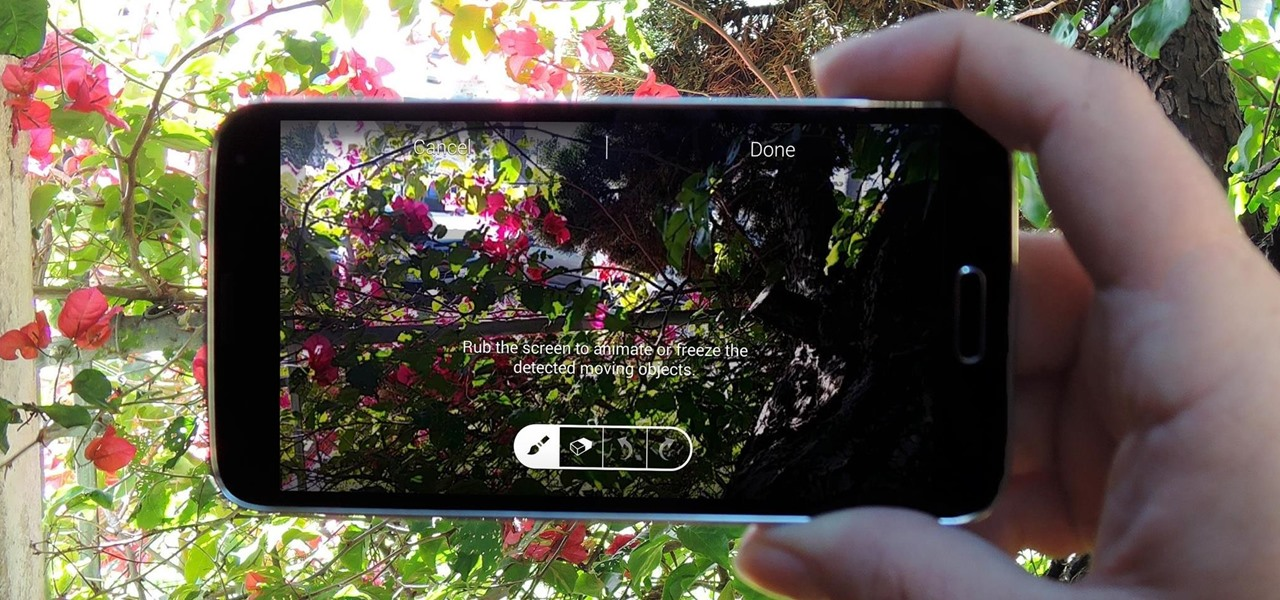 Take Still Photos with Subtle Animations on Your Samsung Galaxy Device