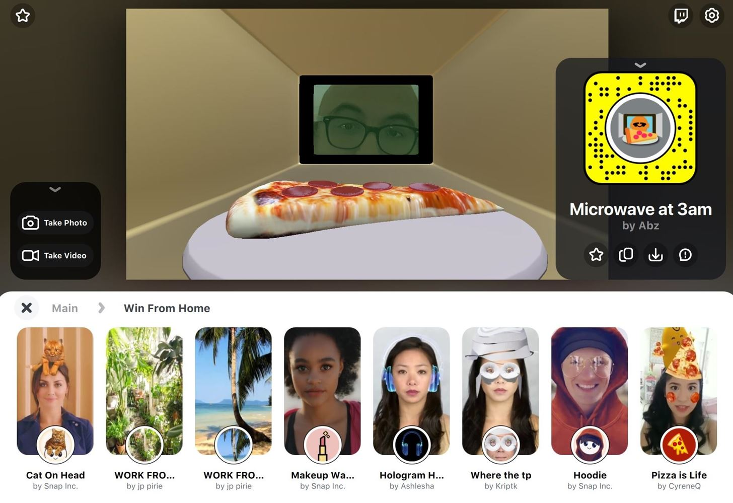 How to Use Your Favorite Snapchat AR Lenses on Zoom, Skype, Meet & Other Video Conferencing Apps