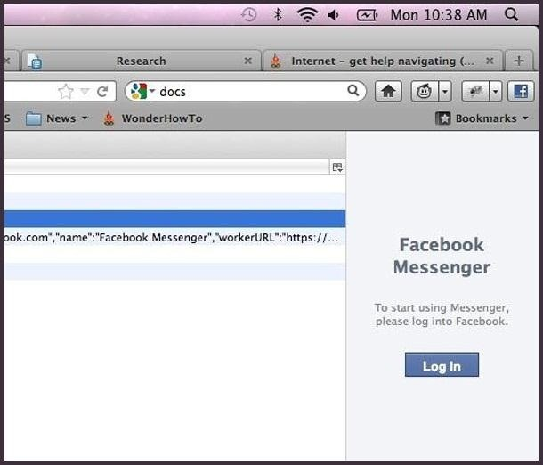 How to Enable the Hidden Facebook Chat and Notifications Feature in Firefox 17's Toolbar
