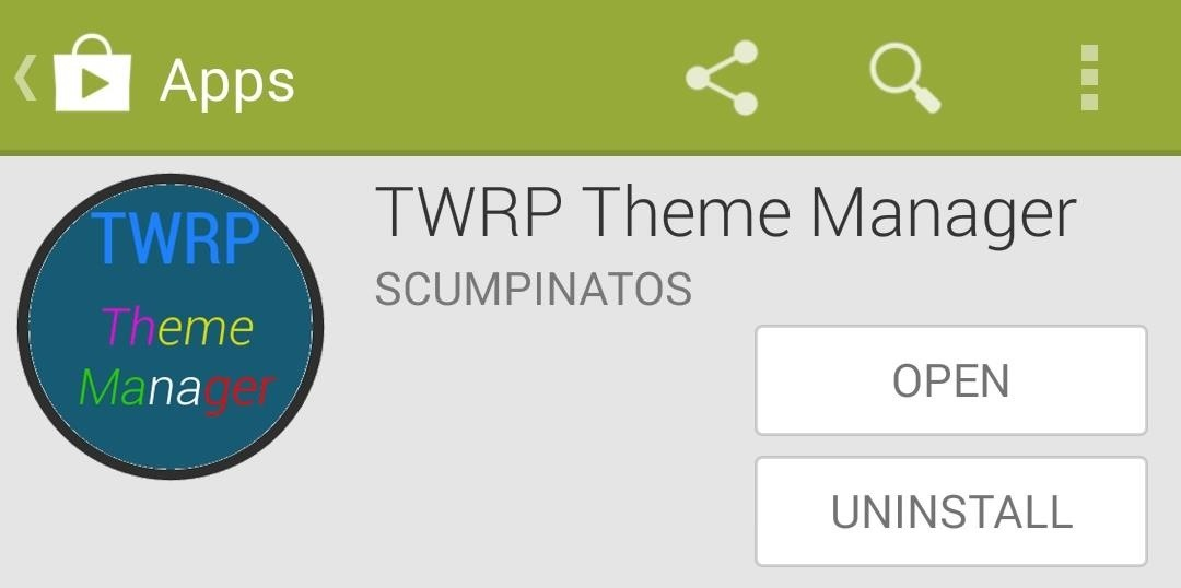 Customize TWRP Recovery with Free Themes