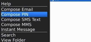 Send an MMS message on a BlackBerry smartphone