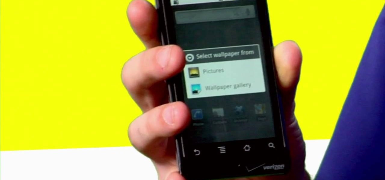 How To Set The Wallpaper On An Android Cell Phone Smartphones Gadget Hacks