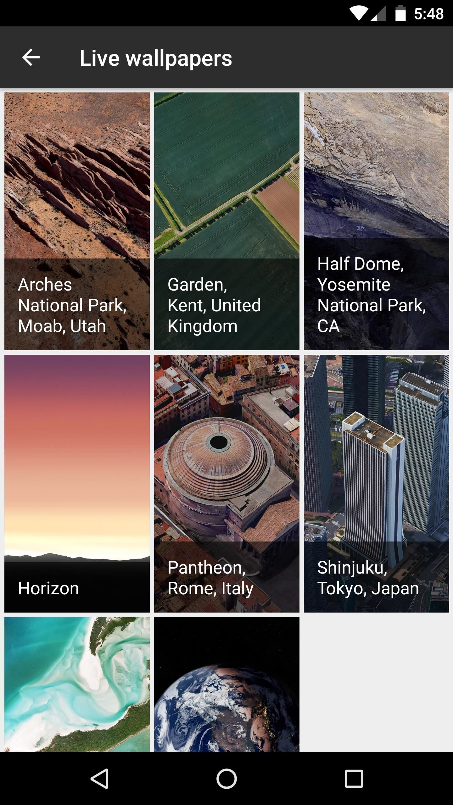 How to Get the Pixel s Amazing New Live Earth Wallpapers on Your