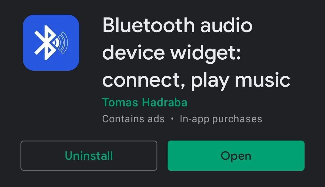 To switch between Bluetooth accessories in 1 Tap Android