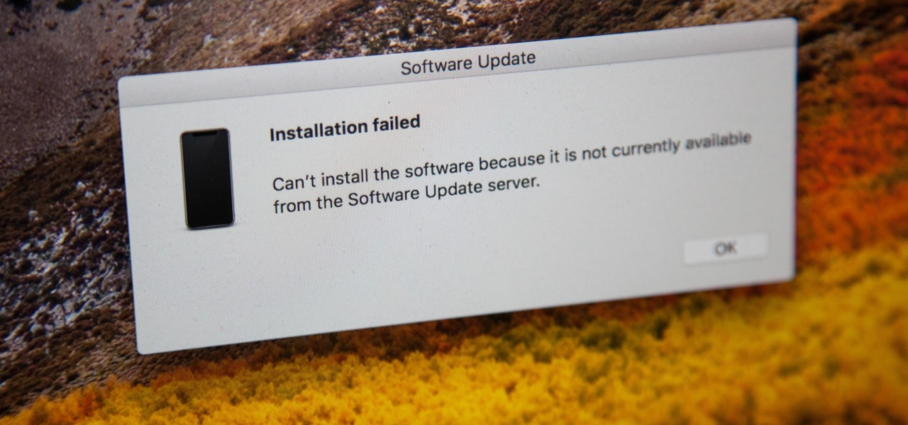How to Fix the 'Software Update Is Required to Connect to