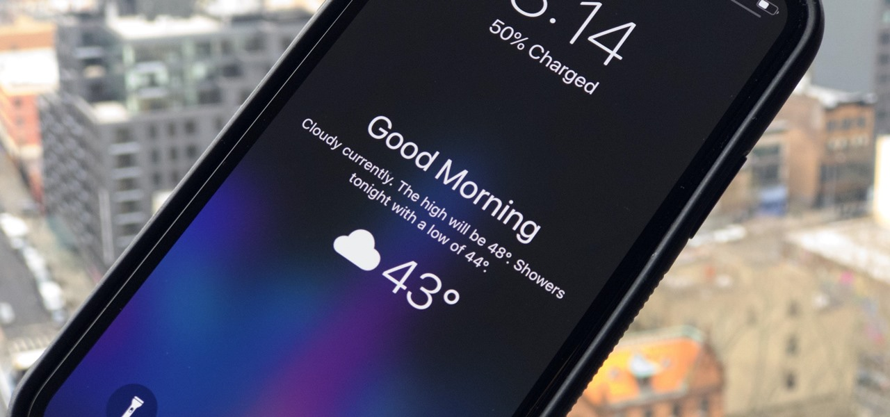 How to Disable the 'Good Morning' Message on Your iPhone's
