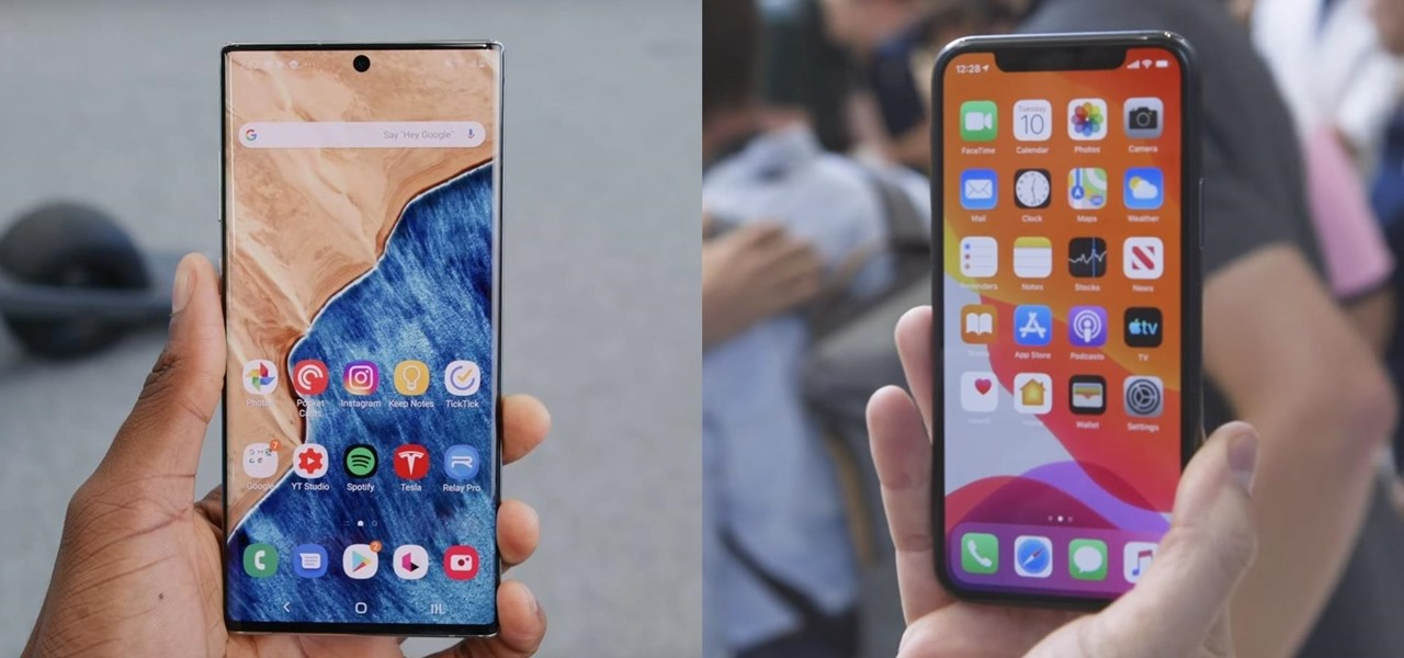 How Does the iPhone 11 Pro Compare to the Galaxy Note 10?