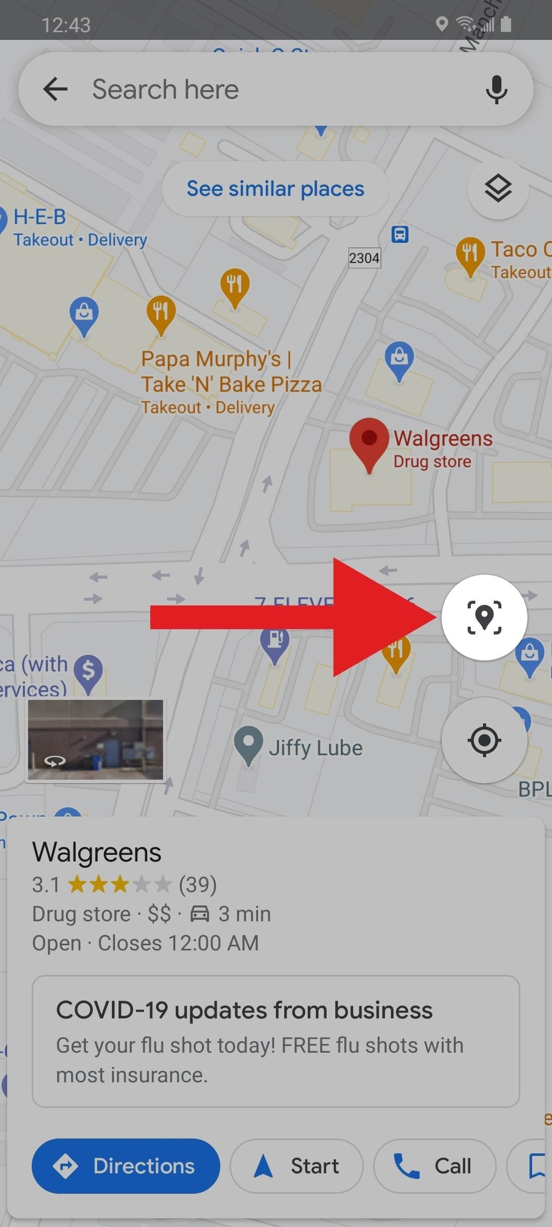 How to Use Your Phone's Camera as an Augmented Reality Viewfinder to Find Places in Google Maps
