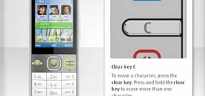 Use the Home and Navi keys on the Nokia C5