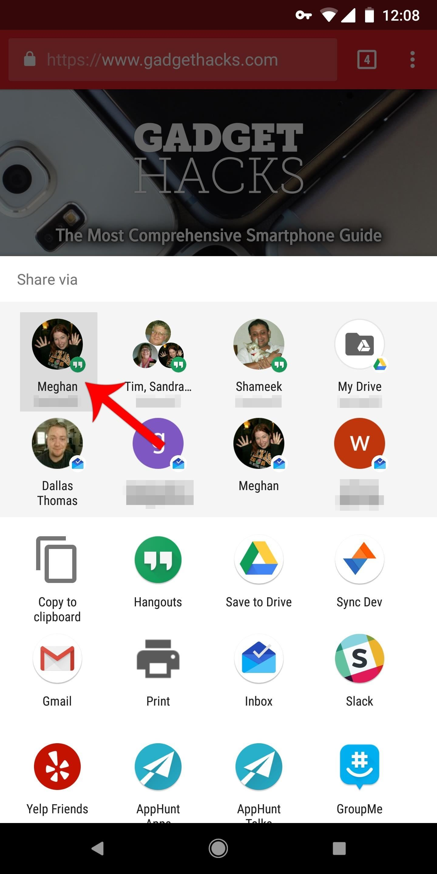 How to Edit Android's Share Menu — No Root Needed