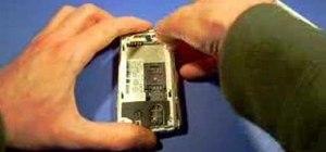 Take apart a BlackBerry Pearl 8100