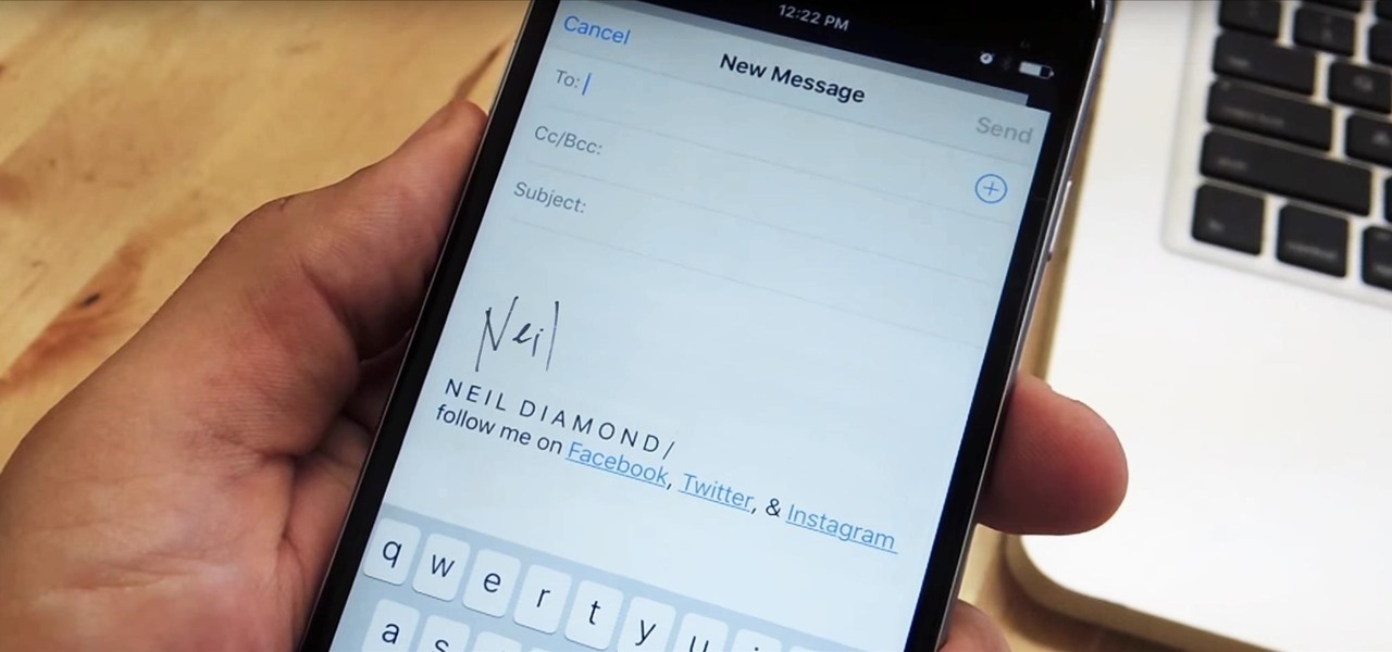 Customize Your iPhone's Email Signature—The Ultimate Guide