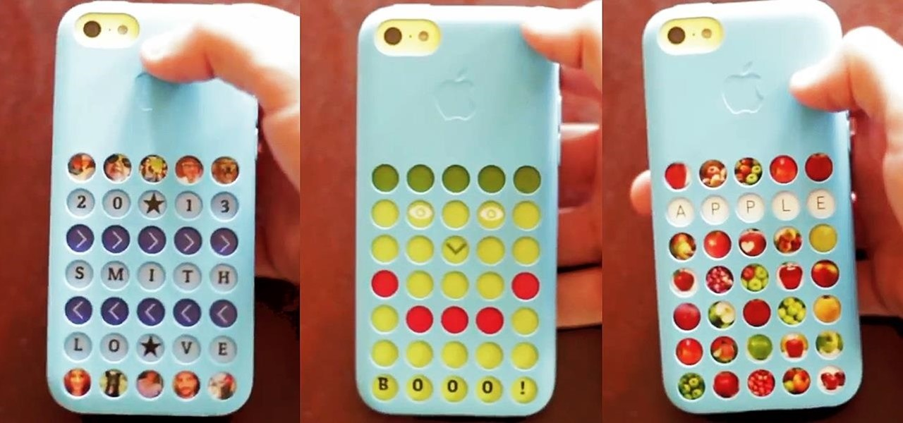 Give Your iPhone 5C a Brand New Look Every Day with Personalized Case Collages