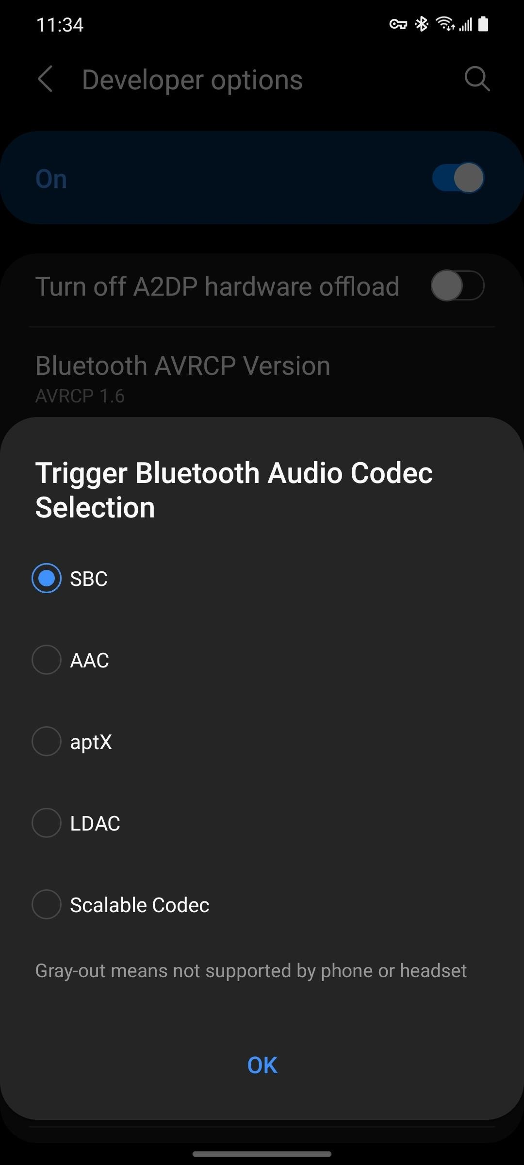 How to See Which Audio Codecs Your Bluetooth Headphones Support with One UI 3.0