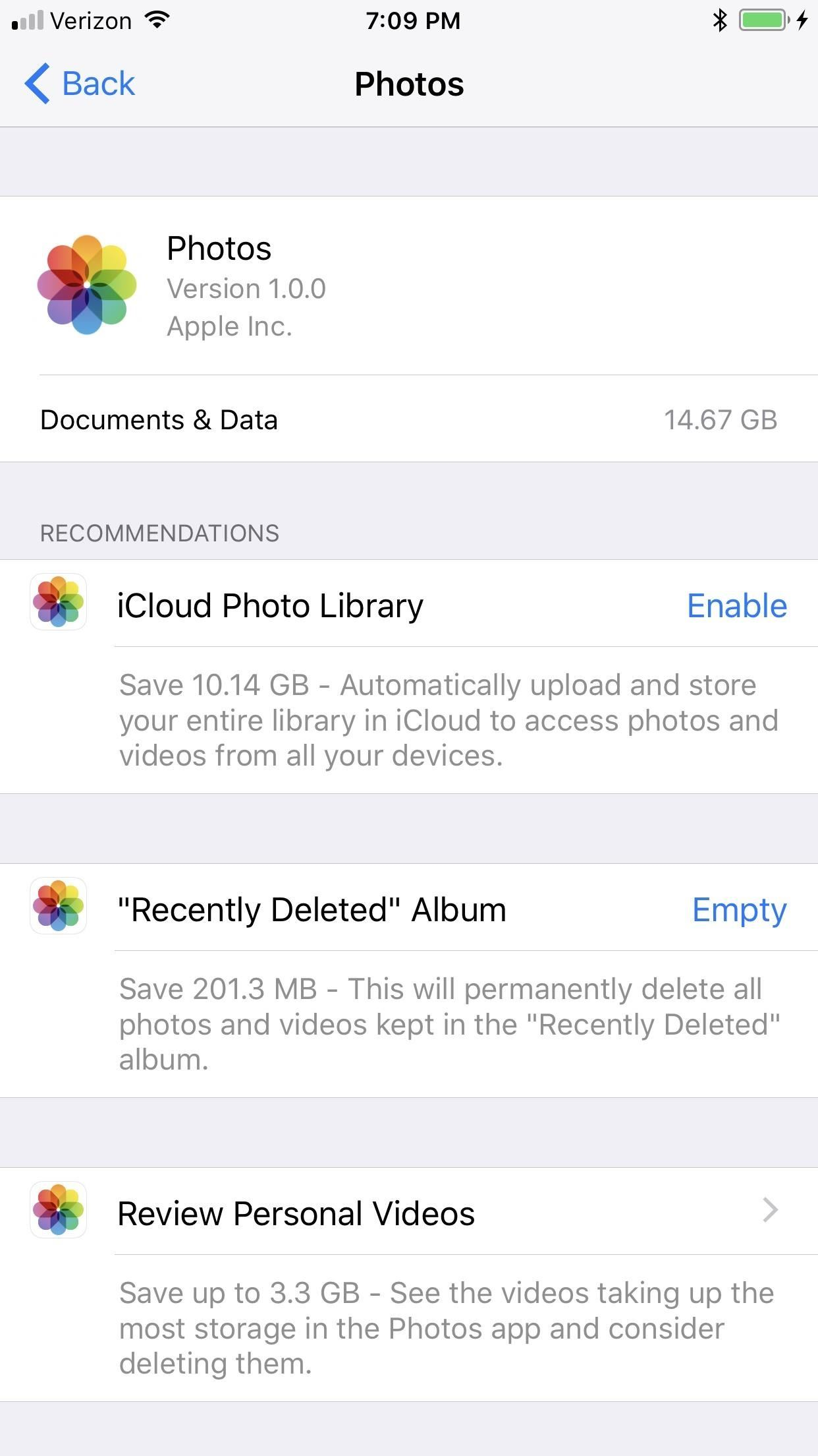 iOS 11 Just Upgraded the iPhone's Storage Management System with More Features