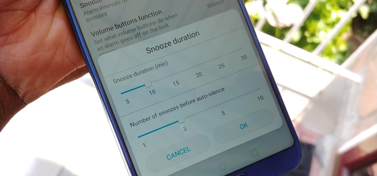 Change the Default Snooze Time for Your Alarm on Any Android