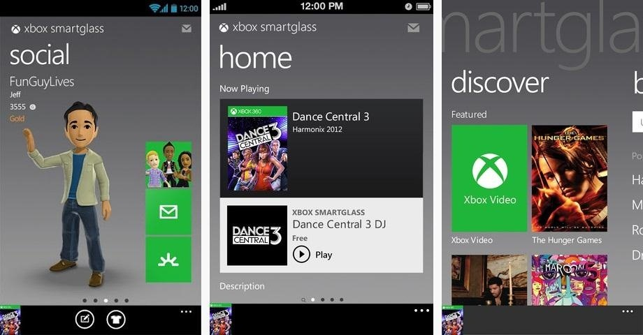 How to Control Your Xbox 360 with a Smartphone or Tablet Using the New SmartGlass App
