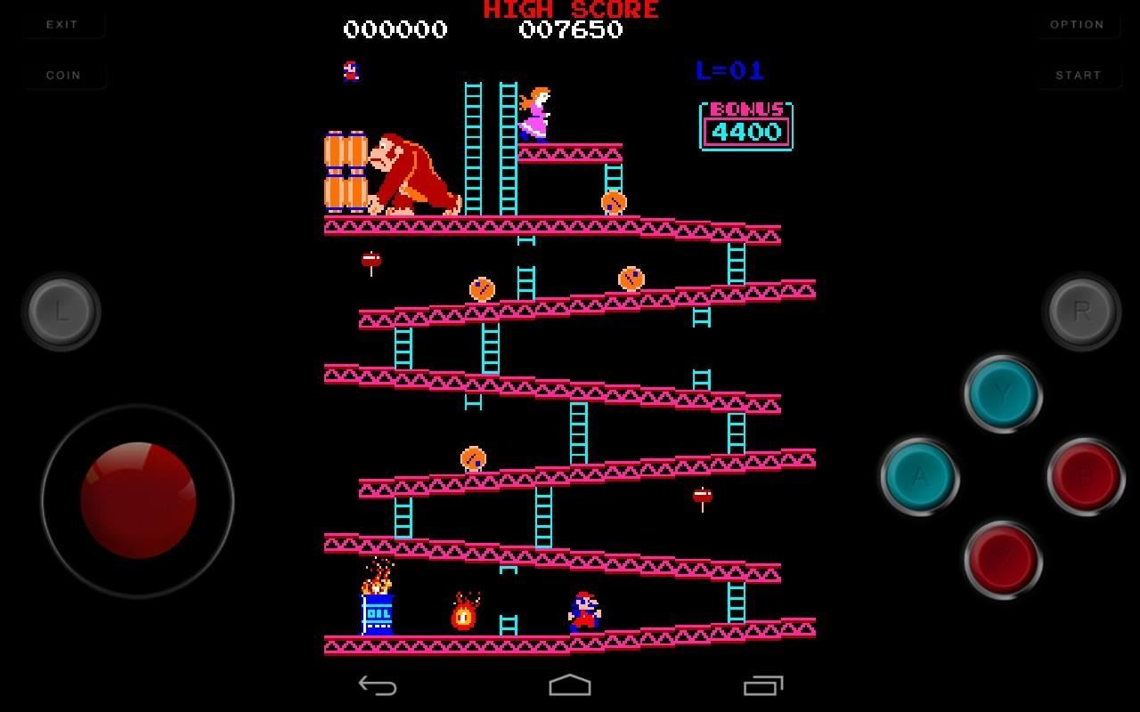 How to Play Almost Any Old School Arcade Game for Free on Your Nexus 7 Tablet