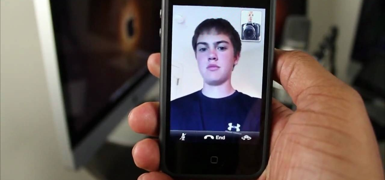 how to get started with facetime on your iphone 4g hd smartphones gadget hacks. Black Bedroom Furniture Sets. Home Design Ideas
