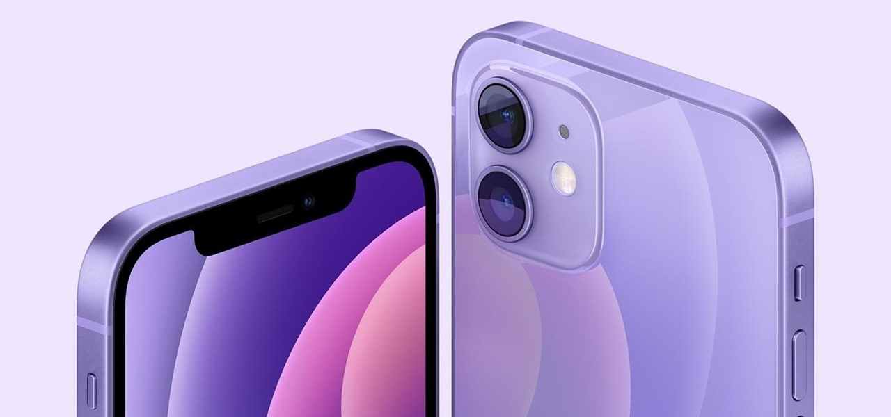 The Purple iPhone 12 Ships with iOS 14.5