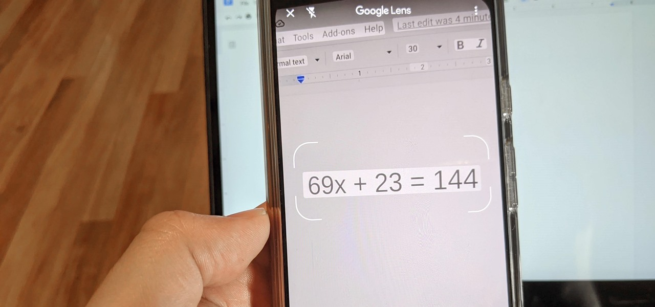 Solve Math Problems with Google Lens' Homework Mode