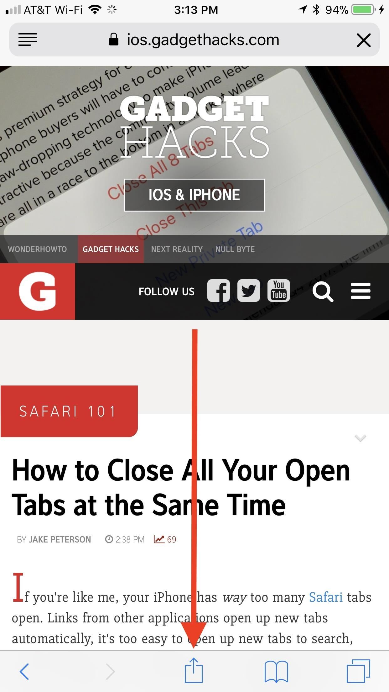 Safari 101: How to Save a Website or Webpage to Your Home Screen for Instant Access