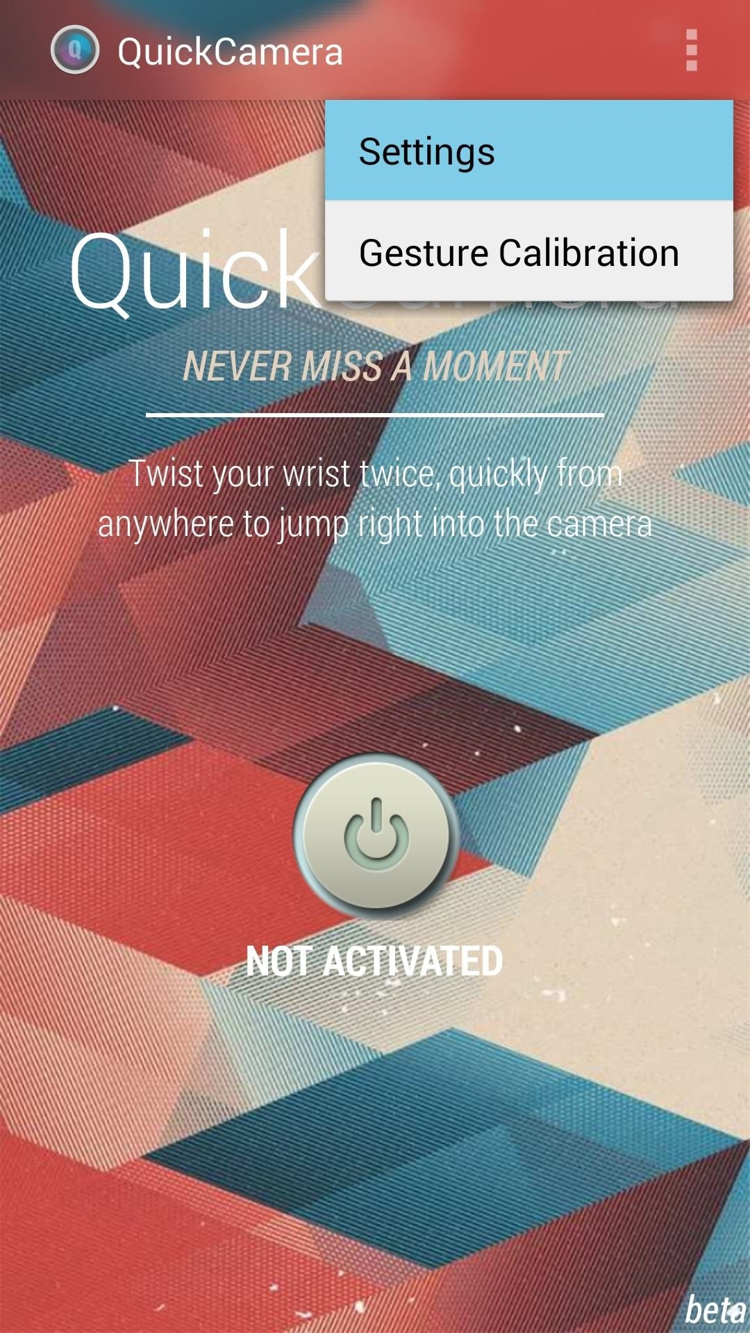 How to Flick Open the Camera App on Your Samsung Galaxy S5