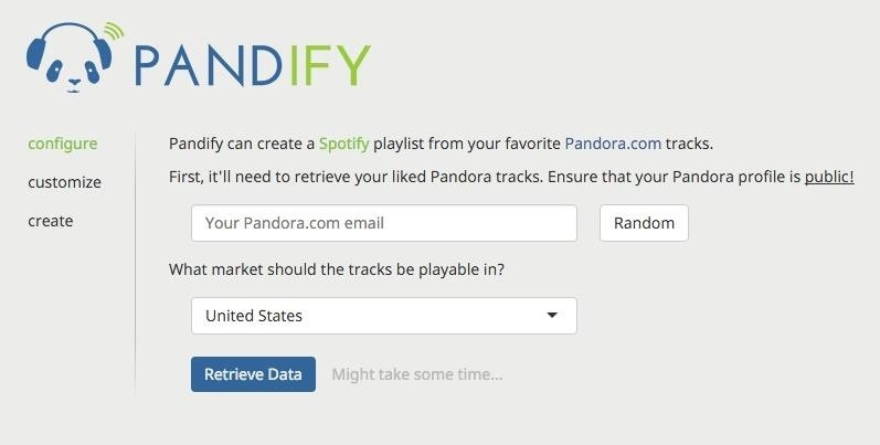 How to Turn Pandora Likes into a Spotify Playlist