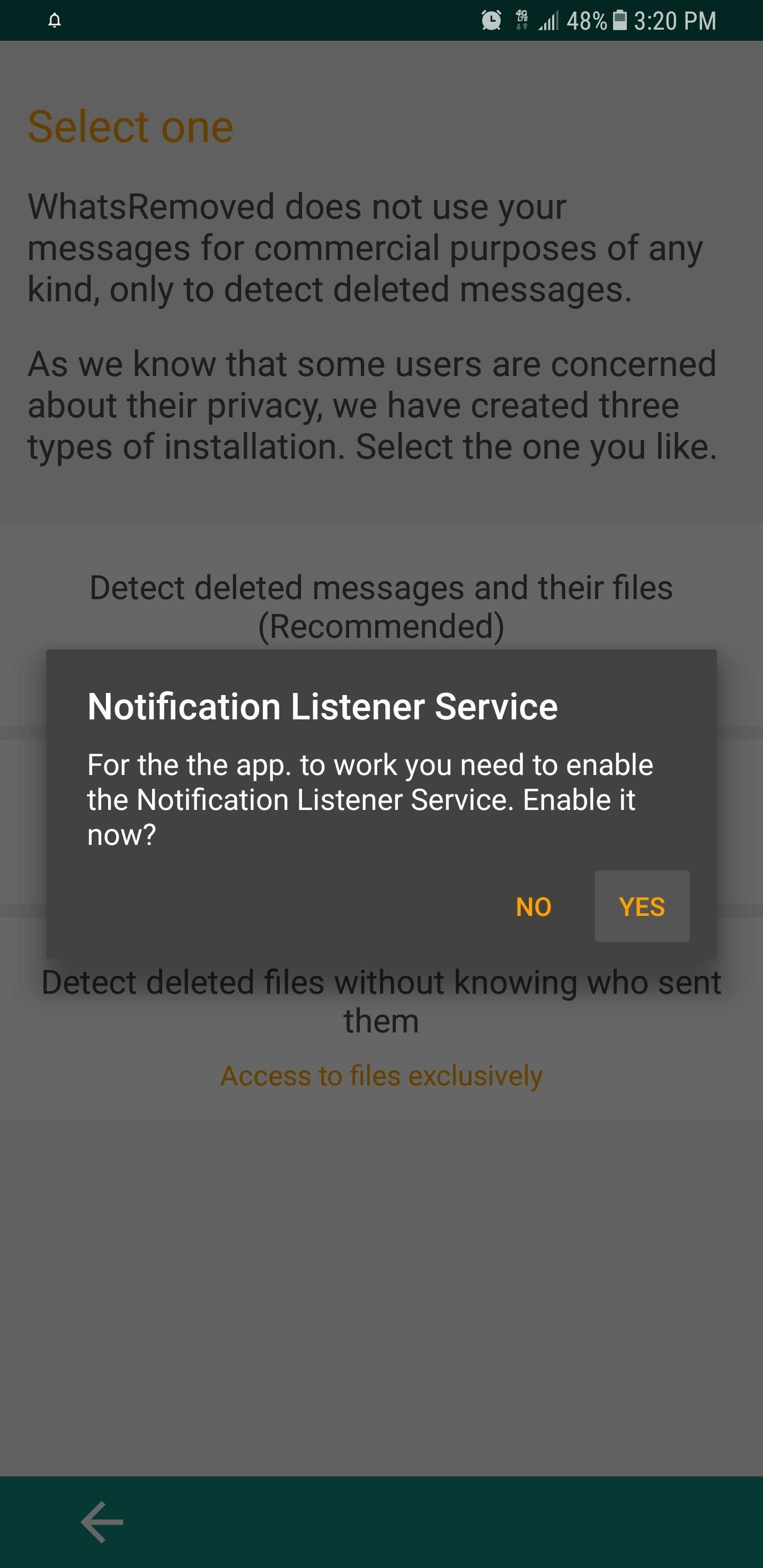 how to see deleted messages on facebook app