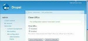 Enable clean file urls in Drupal