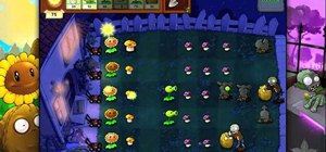 Beat level 2-2 of Plants vs Zombies HD for the iPad