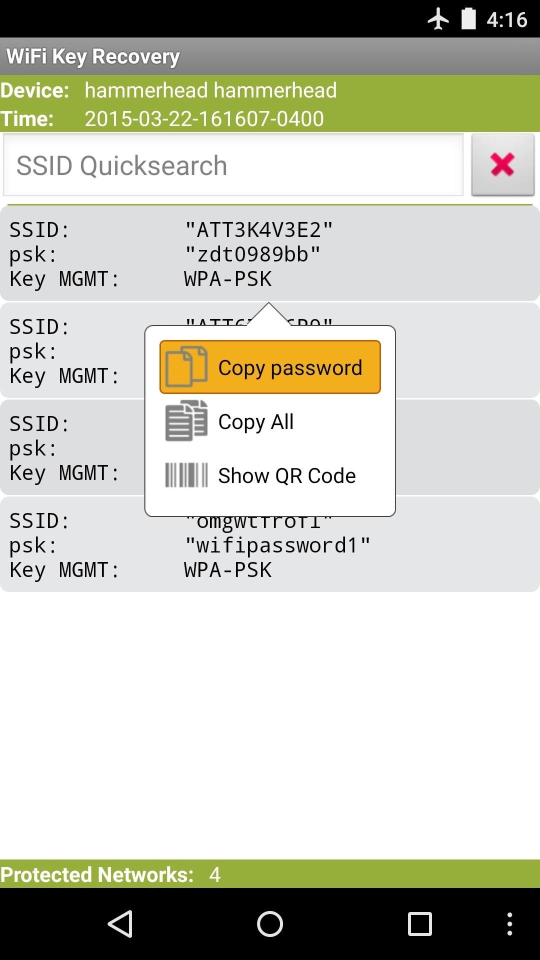 How to See Passwords for Wi-Fi Networks You've Connected Your Android Device To