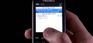 Save time with shortcuts on a BlackBerry Pearl 3G smartphone