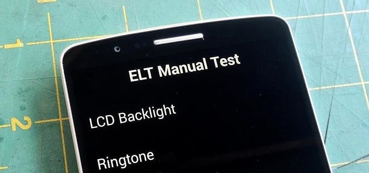 Unlock the Hidden Menu & Run a Diagnostic Test on Your LG G3