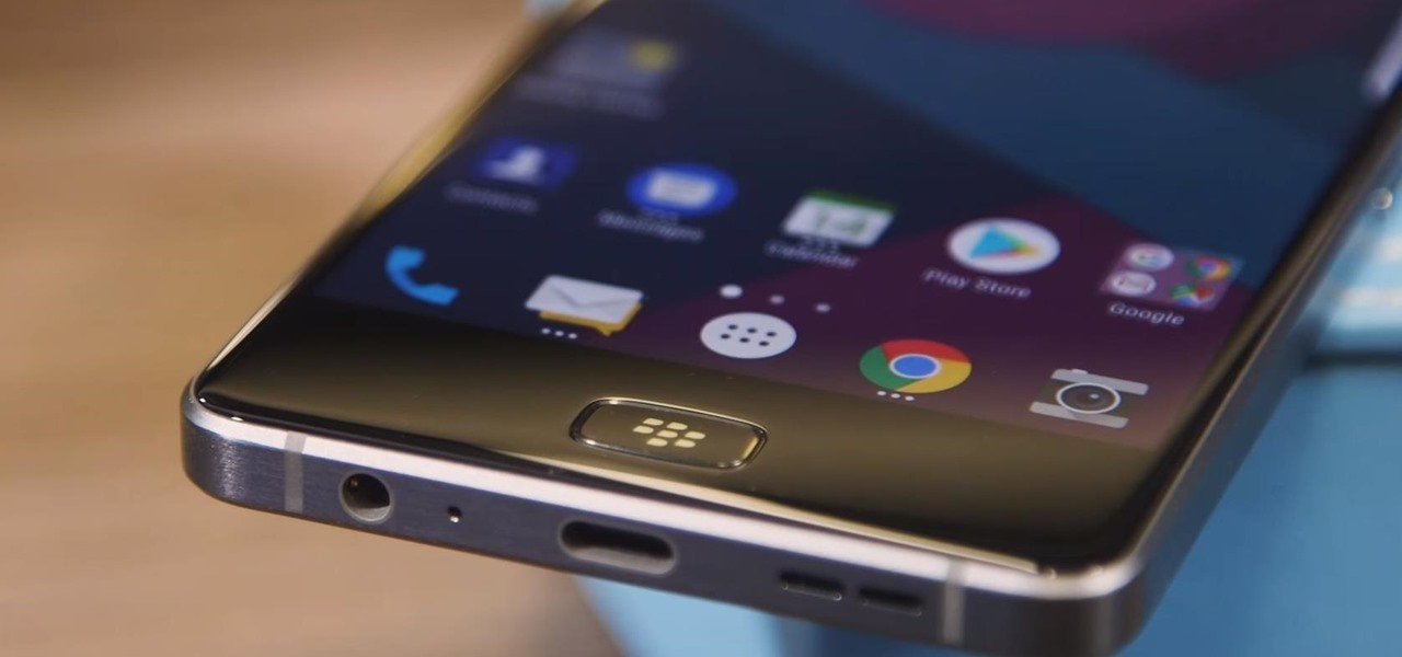 BlackBerry Motion Is Coming to the US with All-Screen Design & Security Focus