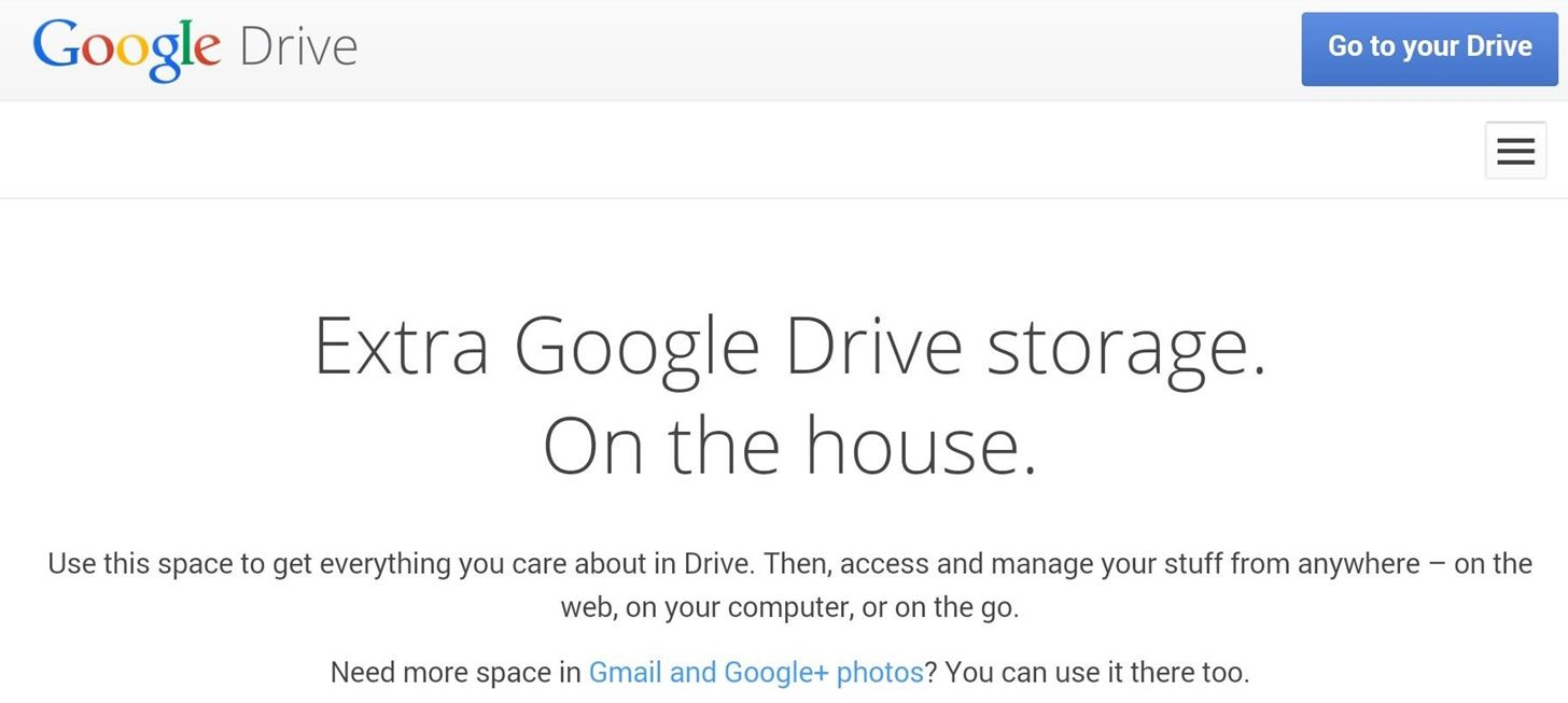 Claim 100 GB of Free Google Drive Storage for Your Bootloader-Unlocked HTC One