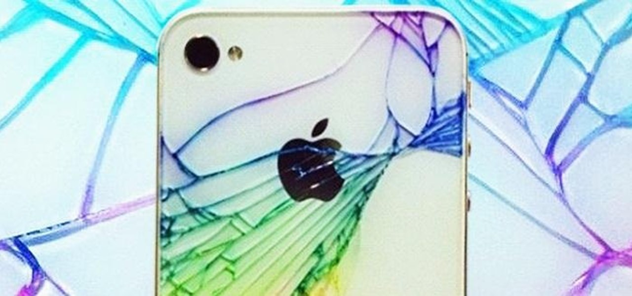 Add Color to Make Your Broken Rear Glass Panel Look… Less Broke