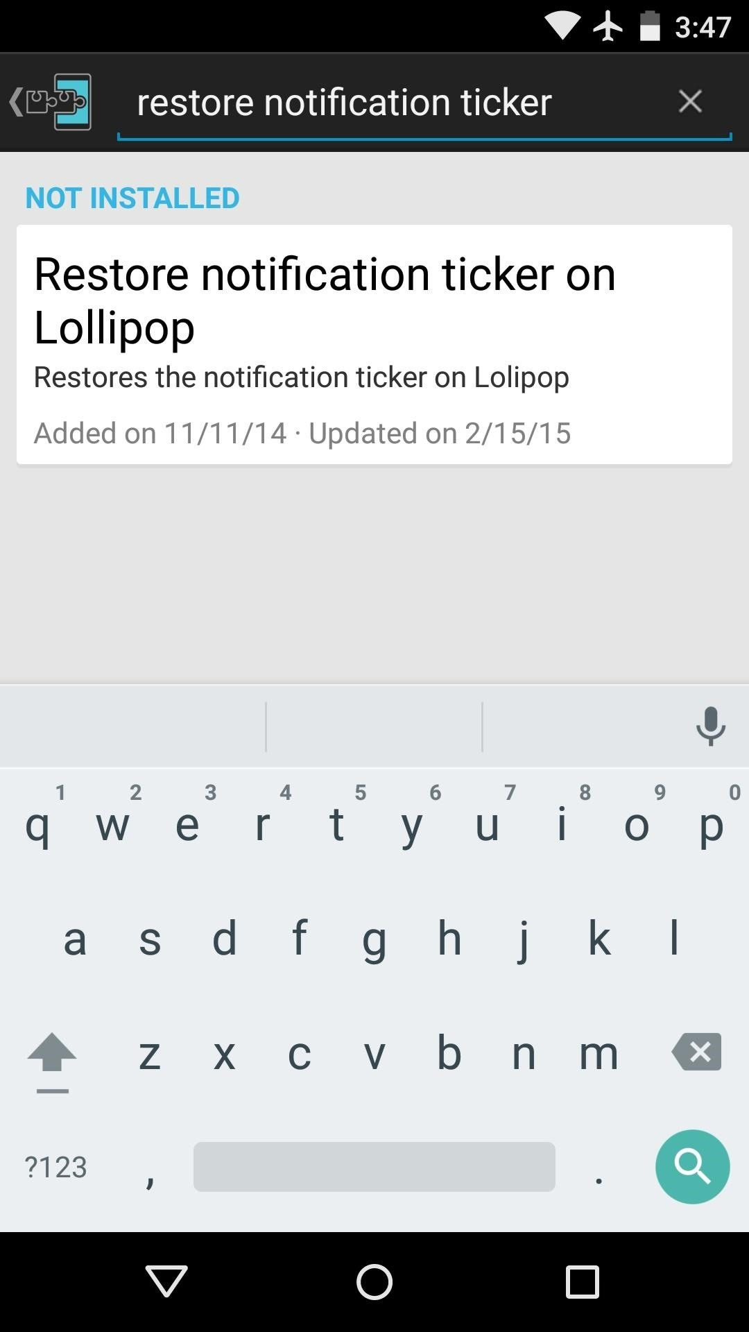 Swap Heads Up Notifications for the Old-Style Ticker in Android Lollipop