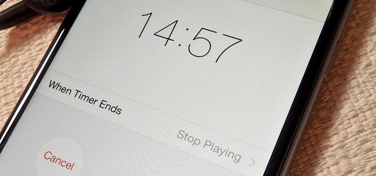 Time Music to Stop Playing on Your iPhone