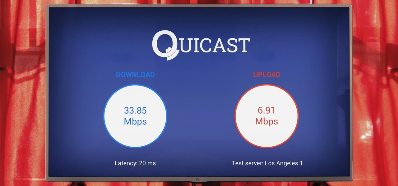 Speed Test Your Chromecast or Android TV