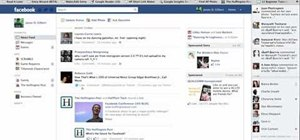 Get rid of the Facebook news ticker