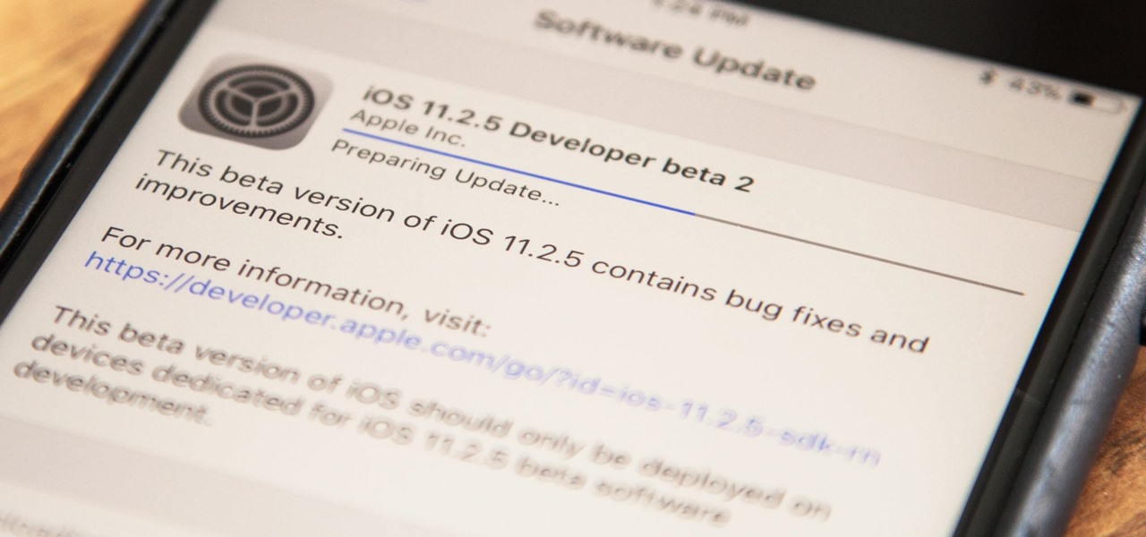 iOS 11.2.5 Beta 2 Released with Bug Fixes & Improvements
