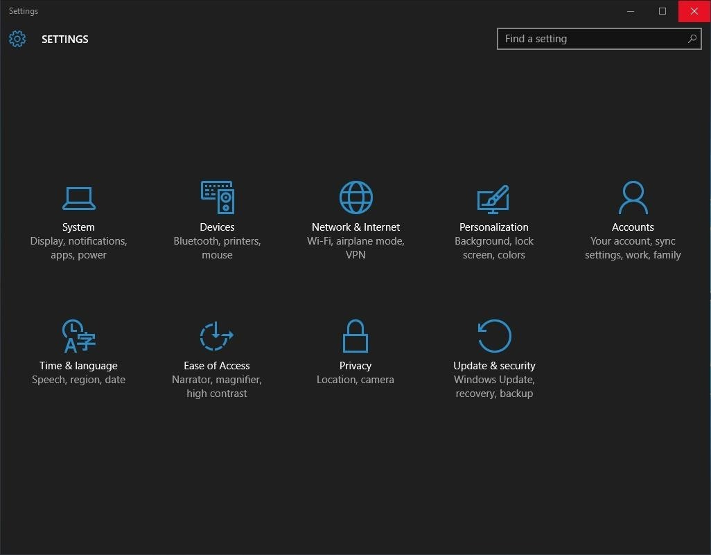 How to Enable the Hidden Dark Mode in Windows 10 « Windows Tips ...