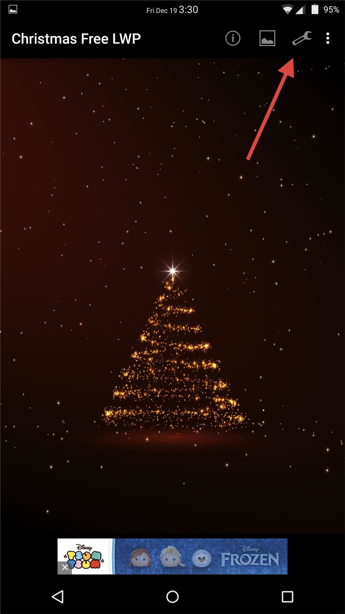Turn Your Androids Wallpaper Into A Christmas New Years Countdown