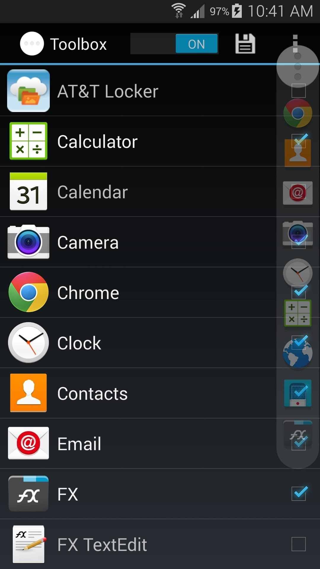 How to Add More Than Just 5 Apps to Your Galaxy S5's Toolbox Button