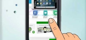 Use touch screen actions on a Nokia C5-03 mobile phone