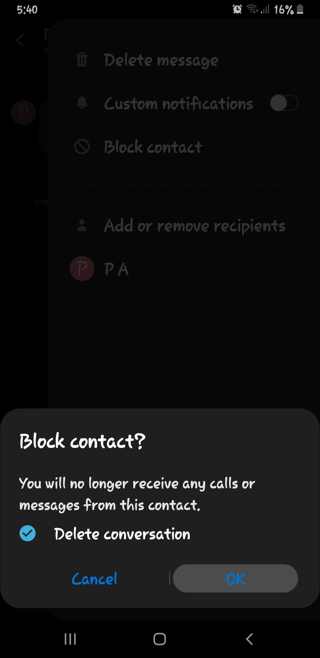 How to Block Spam Texts with Samsung Messages